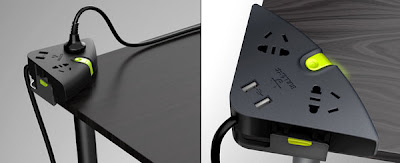 Creative Extension Cords and Cool Powerstrips (15) 15