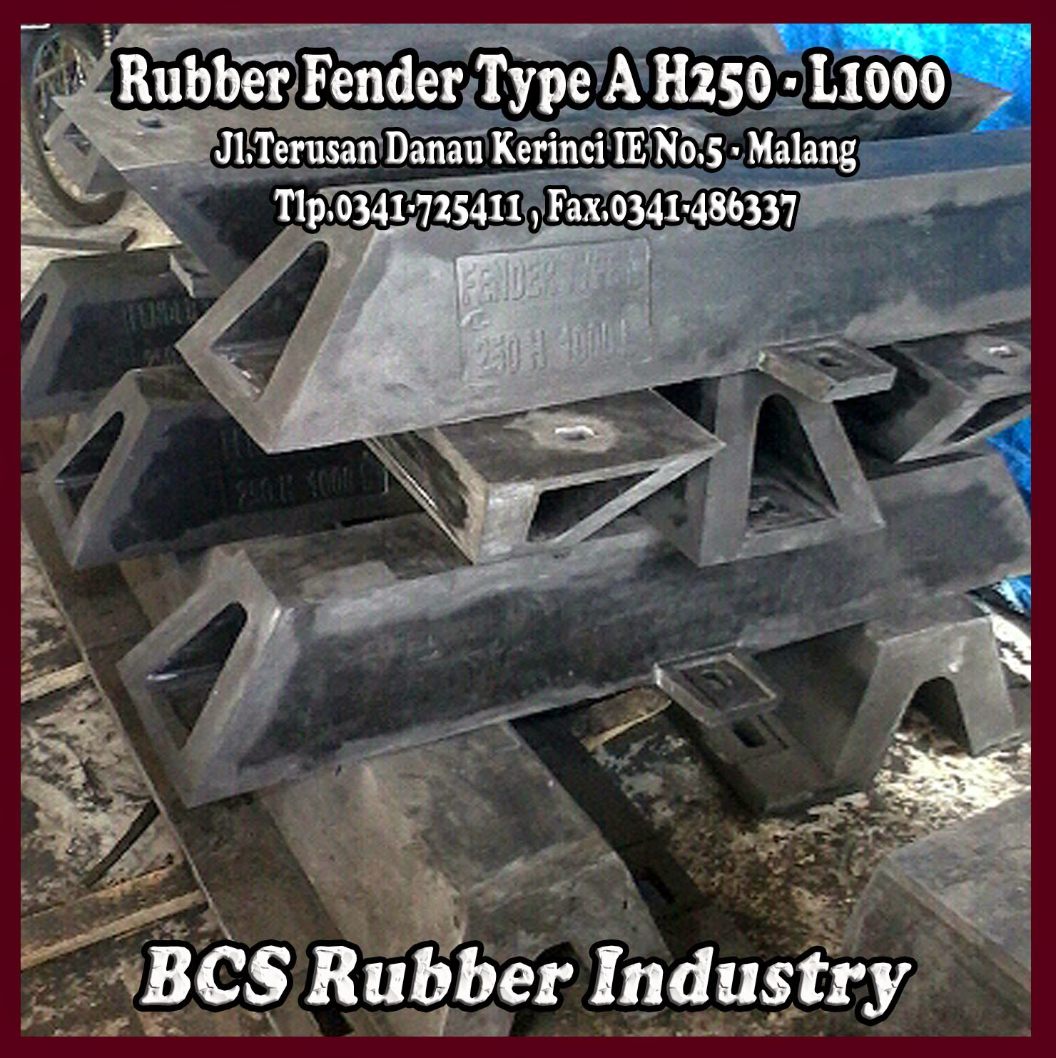 "Rubber Fender Type A "" Rubber Fender "" Rubber Fender A.BCS Rubber Industry"