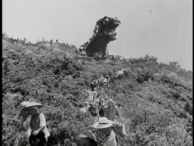 Godzilla on the mountain Gojira