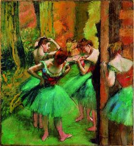 Obra de Degas.