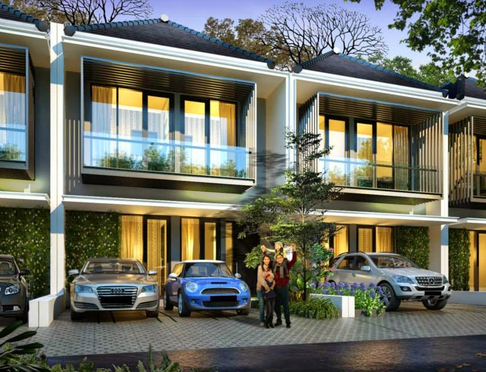 Desain Rumah Mewah Luas Tanah (7x13,5) M