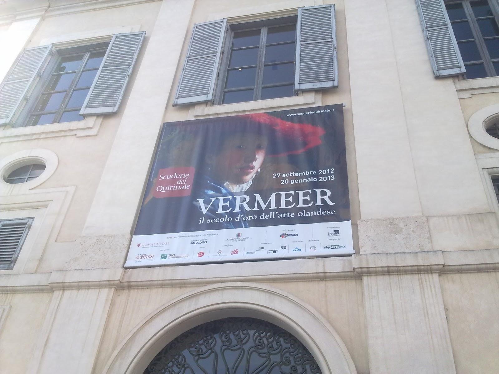 LUNEDÌ 10 DICEMBRE 2012 LE MOSTRE: VERMEER. IL SECOLO D'ORO DELL'ARTE OLANDESE