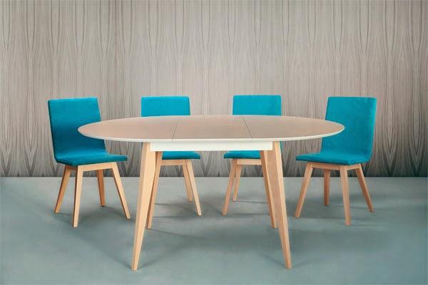 Arte h bitat tu tienda de muebles mesa redonda allondra for Habitat mesas comedor