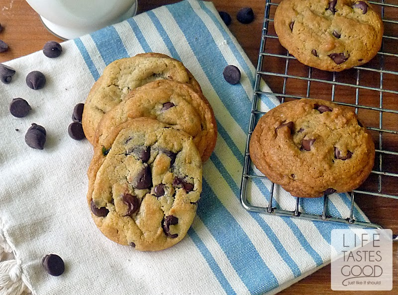 The Ultimate Chocolate Chip Cookie Recipe | Life Tastes Good