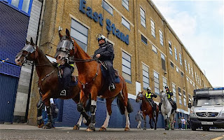 Tottenham fan arrested over