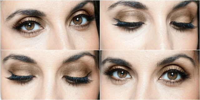 Bad To The Bronze Makeup Look, Smashbox Full Exposure Palette, Esqido Lashes
