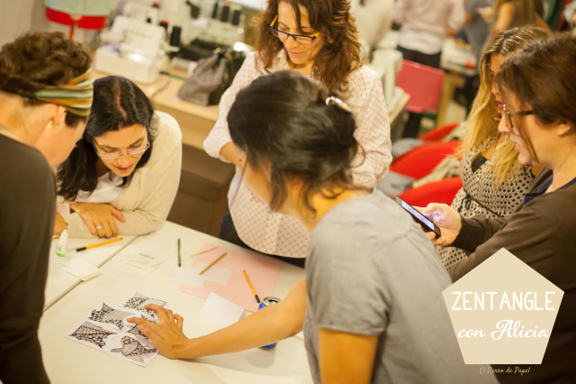 Talleres de Zentangle en Madrid