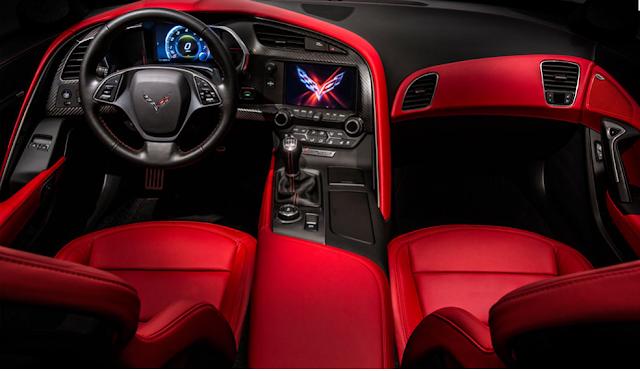 Interior cohe de lujo Chevrolet Corvette