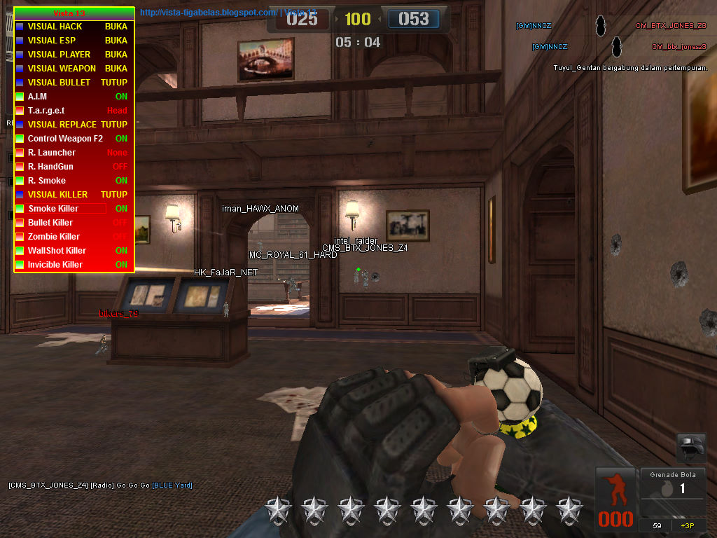 cheat point blank garena indonesia 28 29 september 2015 aim auto