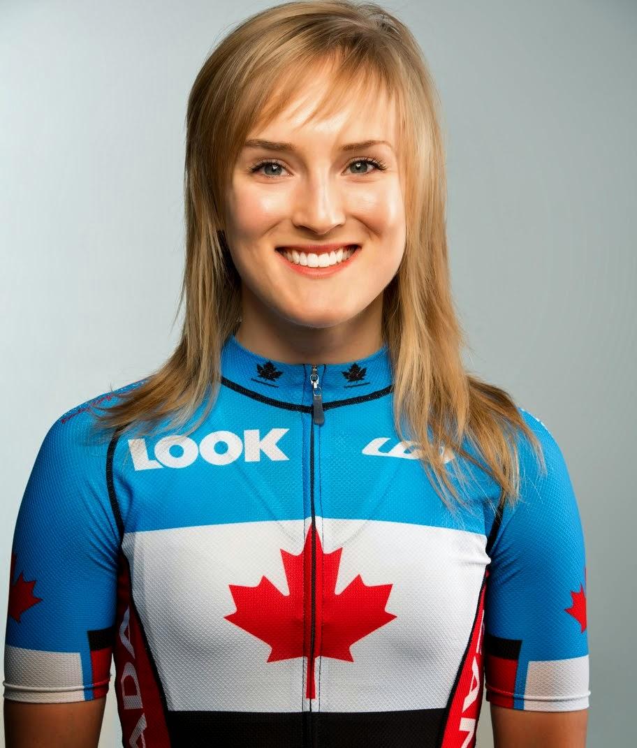 Cycliste professionnelle et marraine de l'équipe