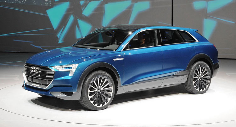electric audi q6 e tron will reportedly be produced in belgium. Black Bedroom Furniture Sets. Home Design Ideas