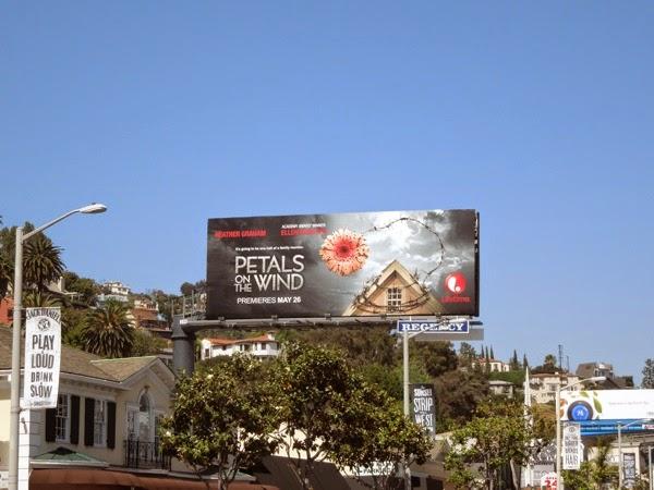 Petals on the Wind Lifetime movie billboard