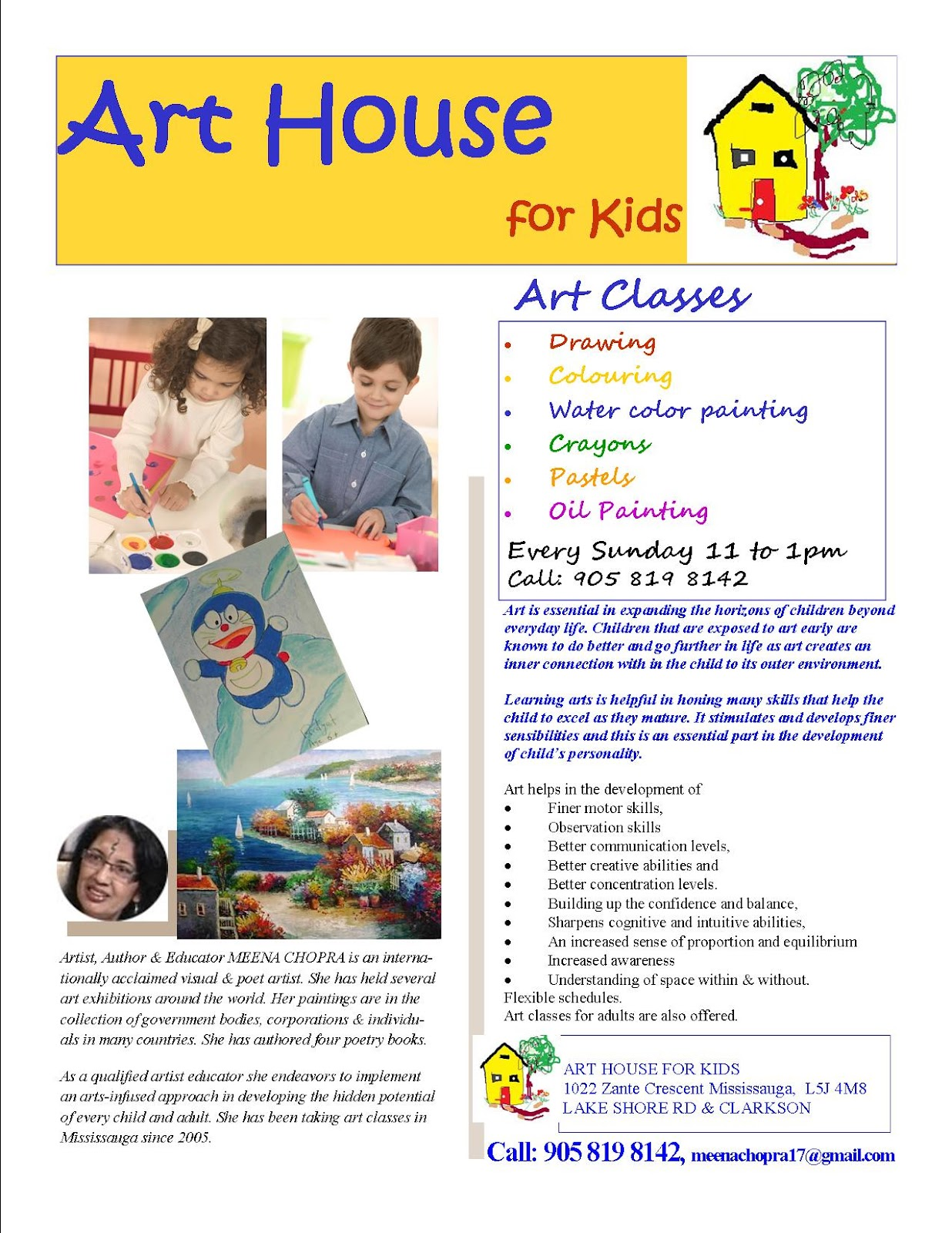 Oil Painting Classes Mississauga