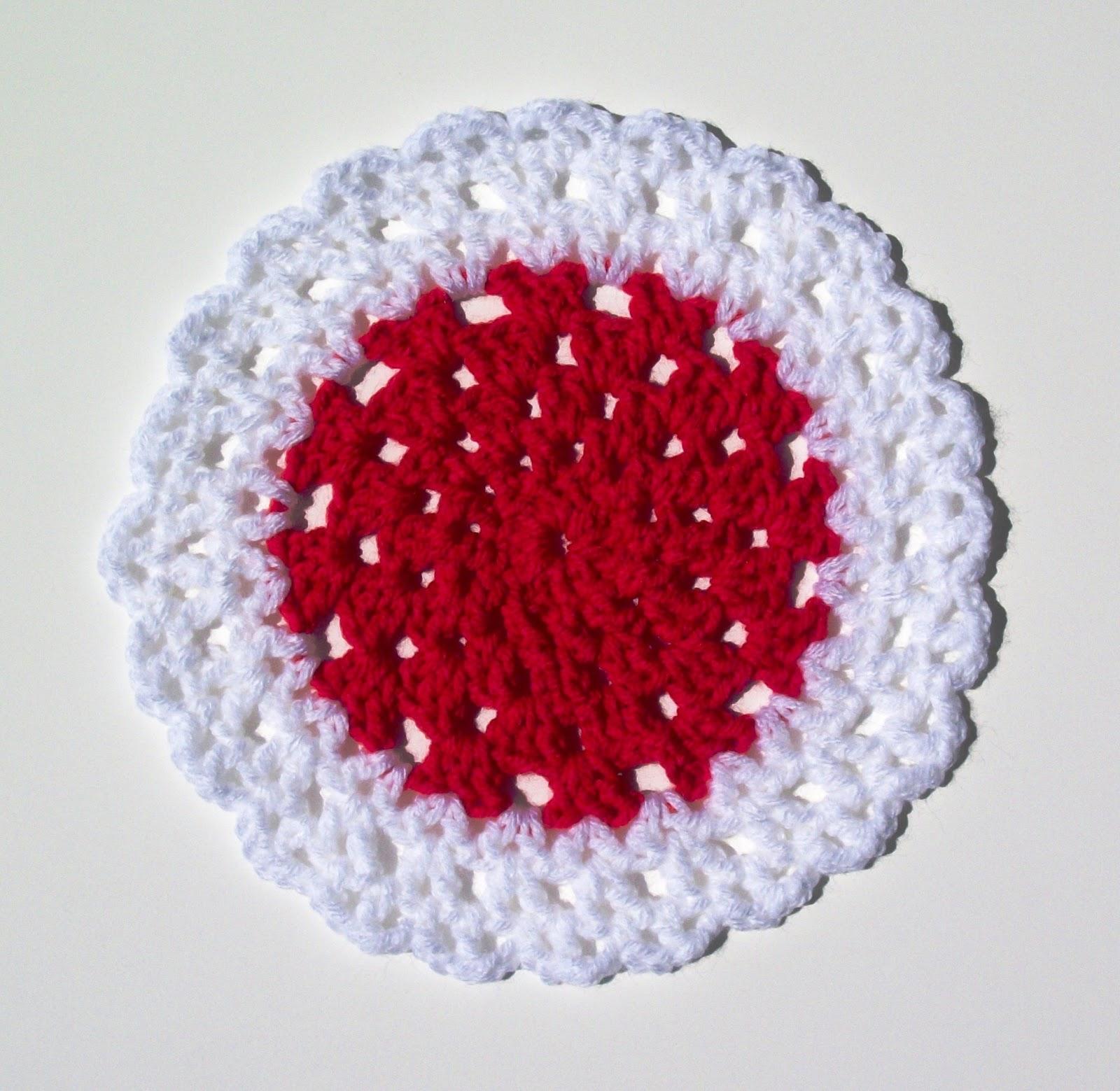 .: Merry-Go-Round Dishcloth