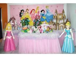 Decoração para festa infantil de princesa para meninas