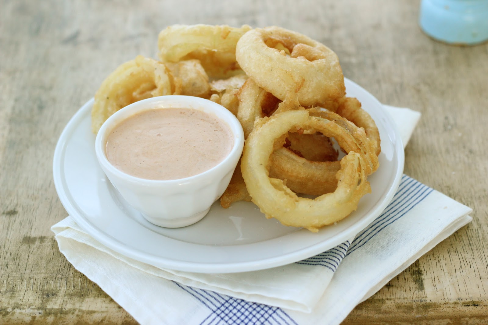 ... Steffens Hobick: Chipotle Dipping Sauce for beer-battered onion rings