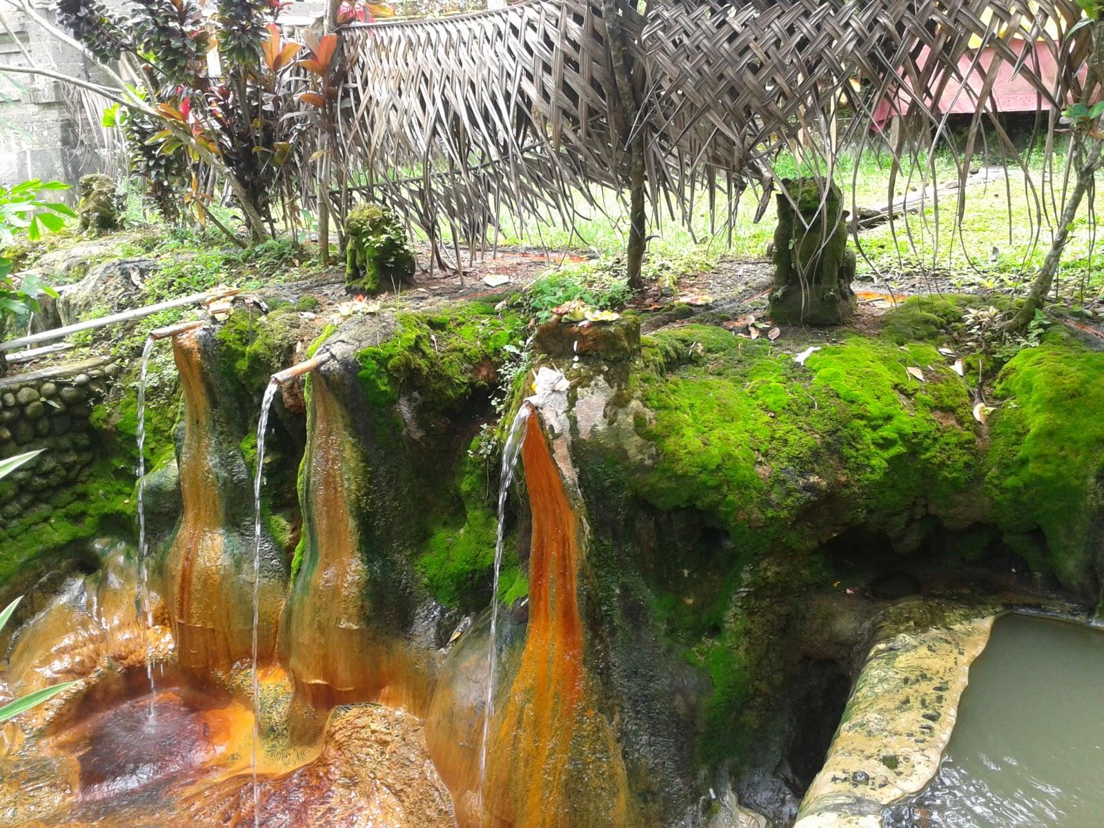 wisata air panas Belulang