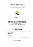 spesifikasi umum 2010 revisi (1) tahun 2011