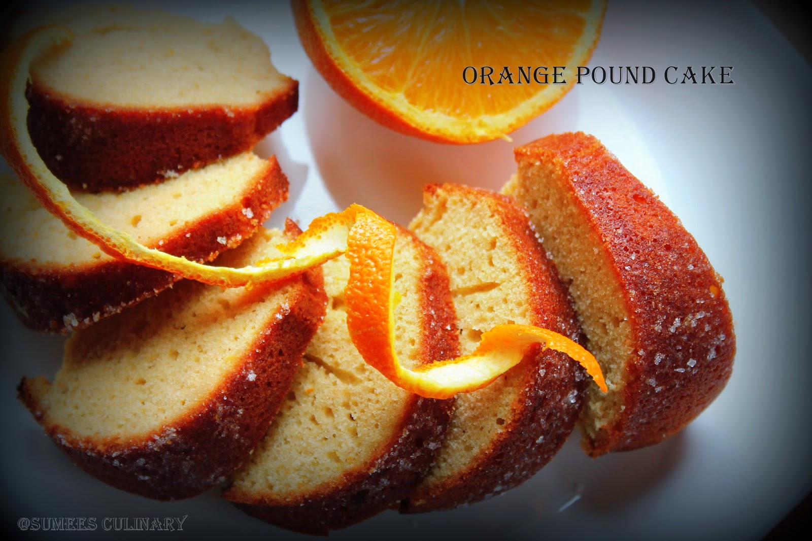 Orange Vanilla Bundt Cake