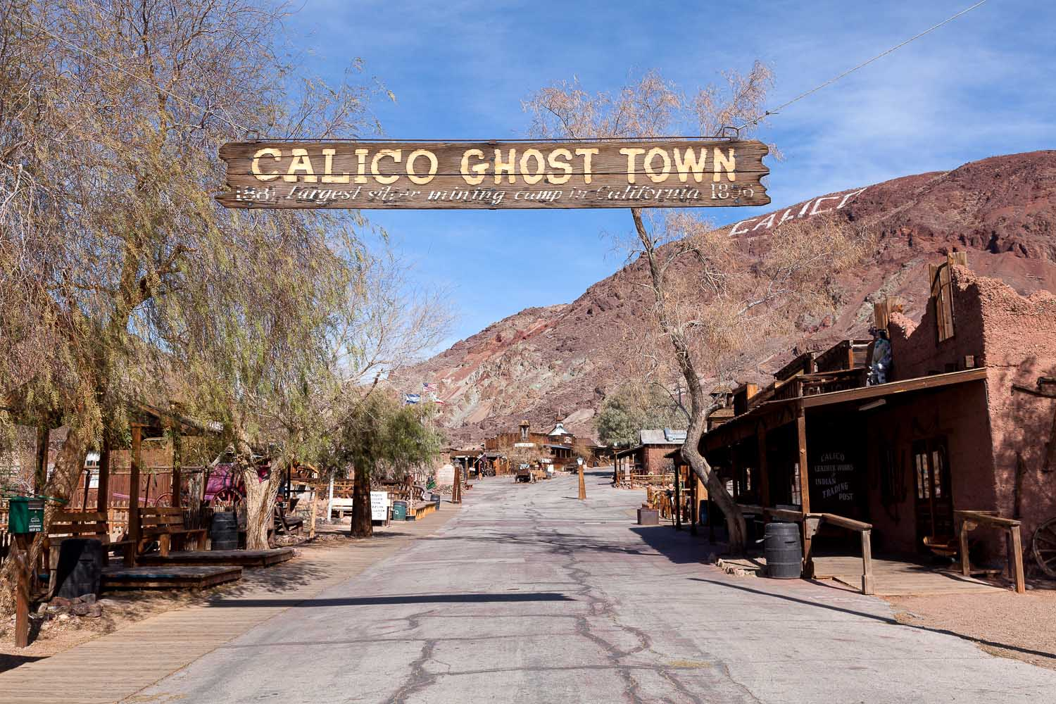 Sunday Road Trip - Calico Ghost Town Revisited