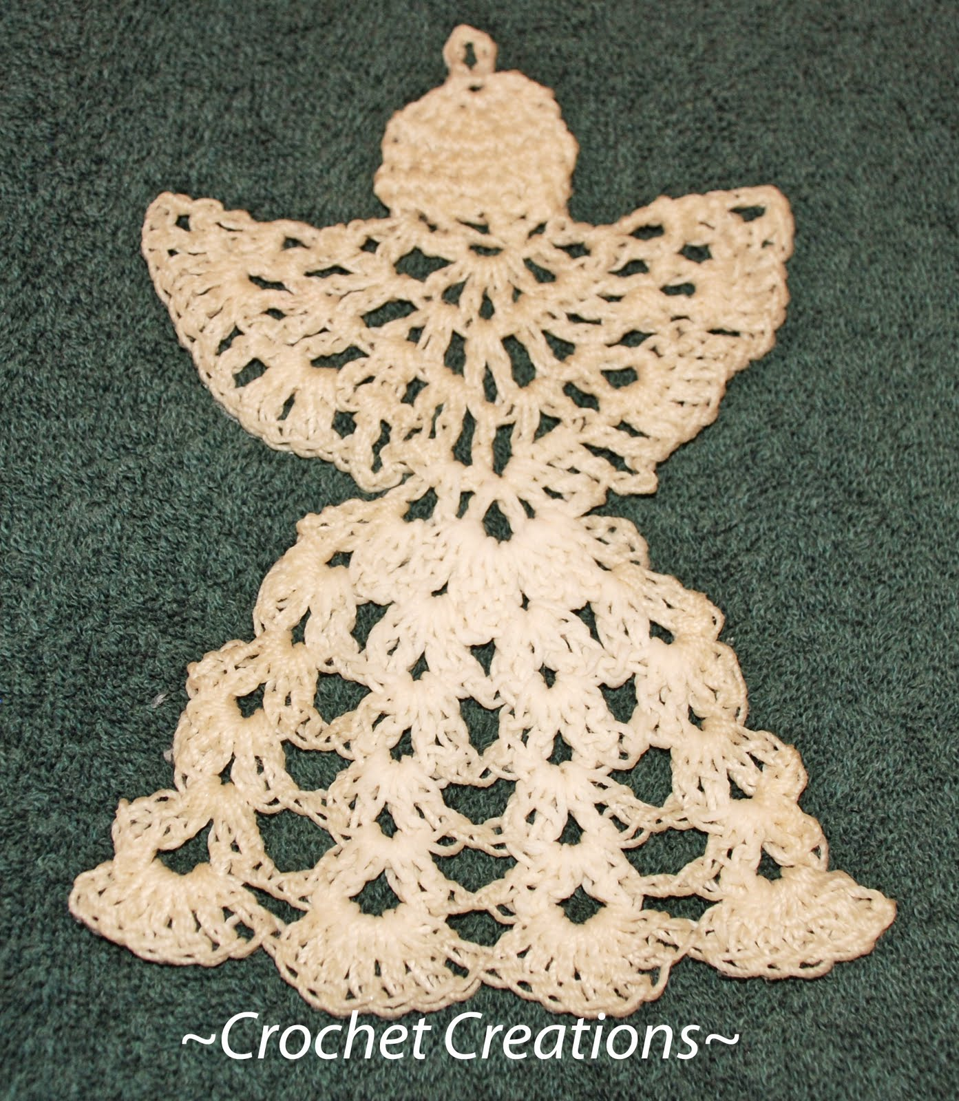 Baby Angel Afghan Free Crochet Pattern