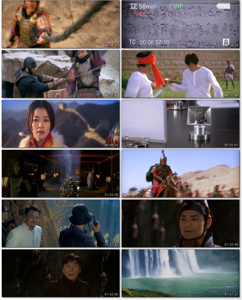 Screen Shot Of The Myth 2005 In Hindi Chinese Dual Audio Bluray