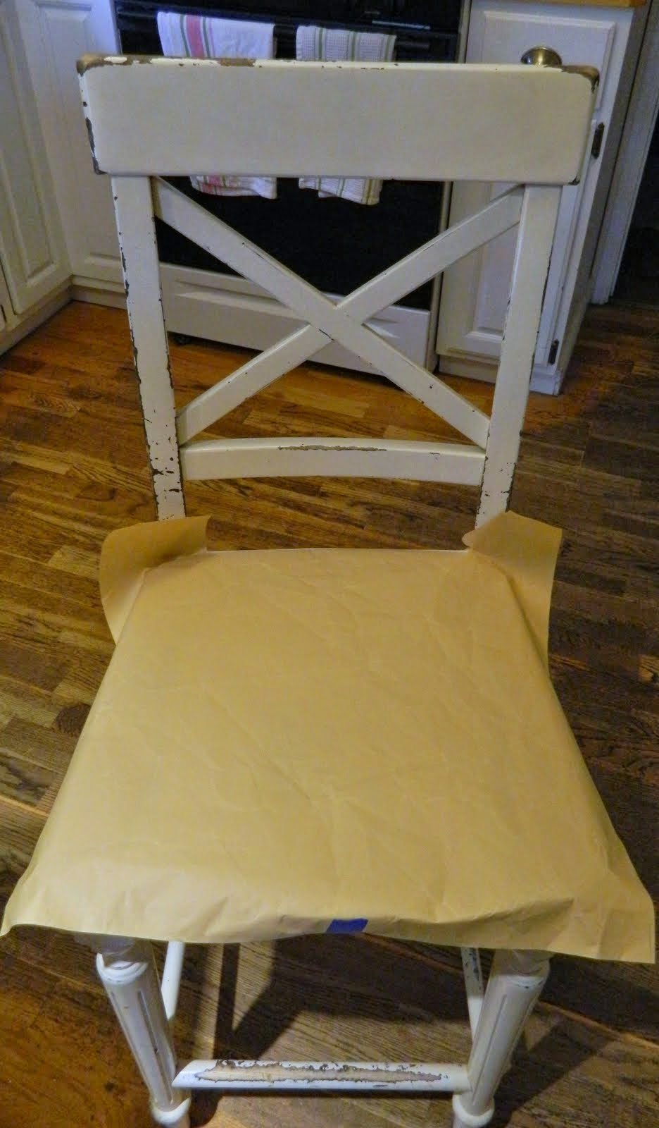 the morning stitch: chair pad tutorial