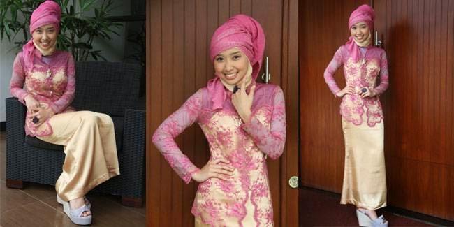 Gambar Kebaya Wisuda Muslim Terbaru Busana Modern Gaya Klasik