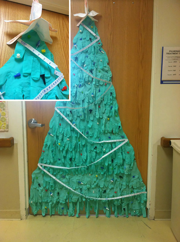 Creative Ideas For Christmas Decorations By A Hospital's Medical Staff - Hospital Christmas