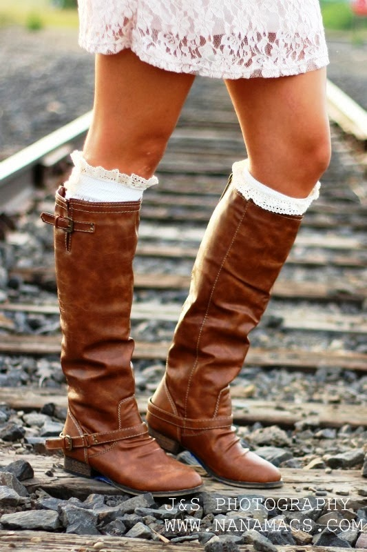 Gorgeous outlaw riding boots fashion style