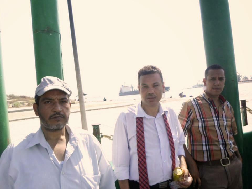 صلاح نافع , الفوج الاول للمعلمين برحلة الى قناة السويس الجديدة, محور قناة السويس