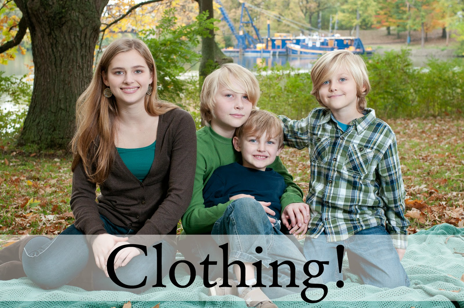 clothing for kids during photo sessions