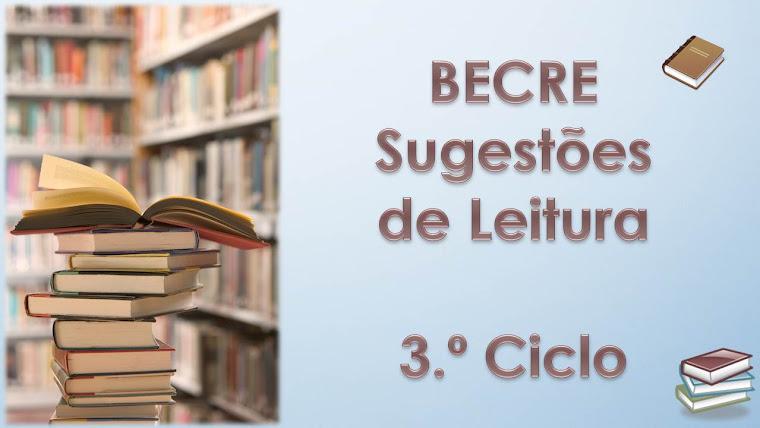 Sugestões de Leitura        3.º Ciclo
