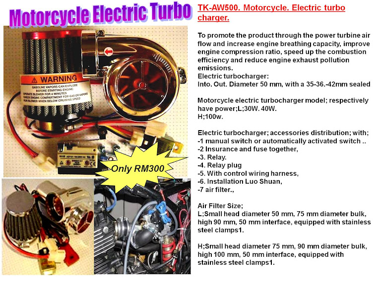 Motorcycle Electric Turbo - RM300