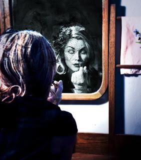 Reflexo dar art no espelho