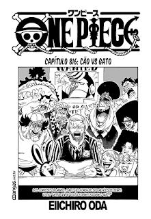 One Piece 816 Mangá português leitura online