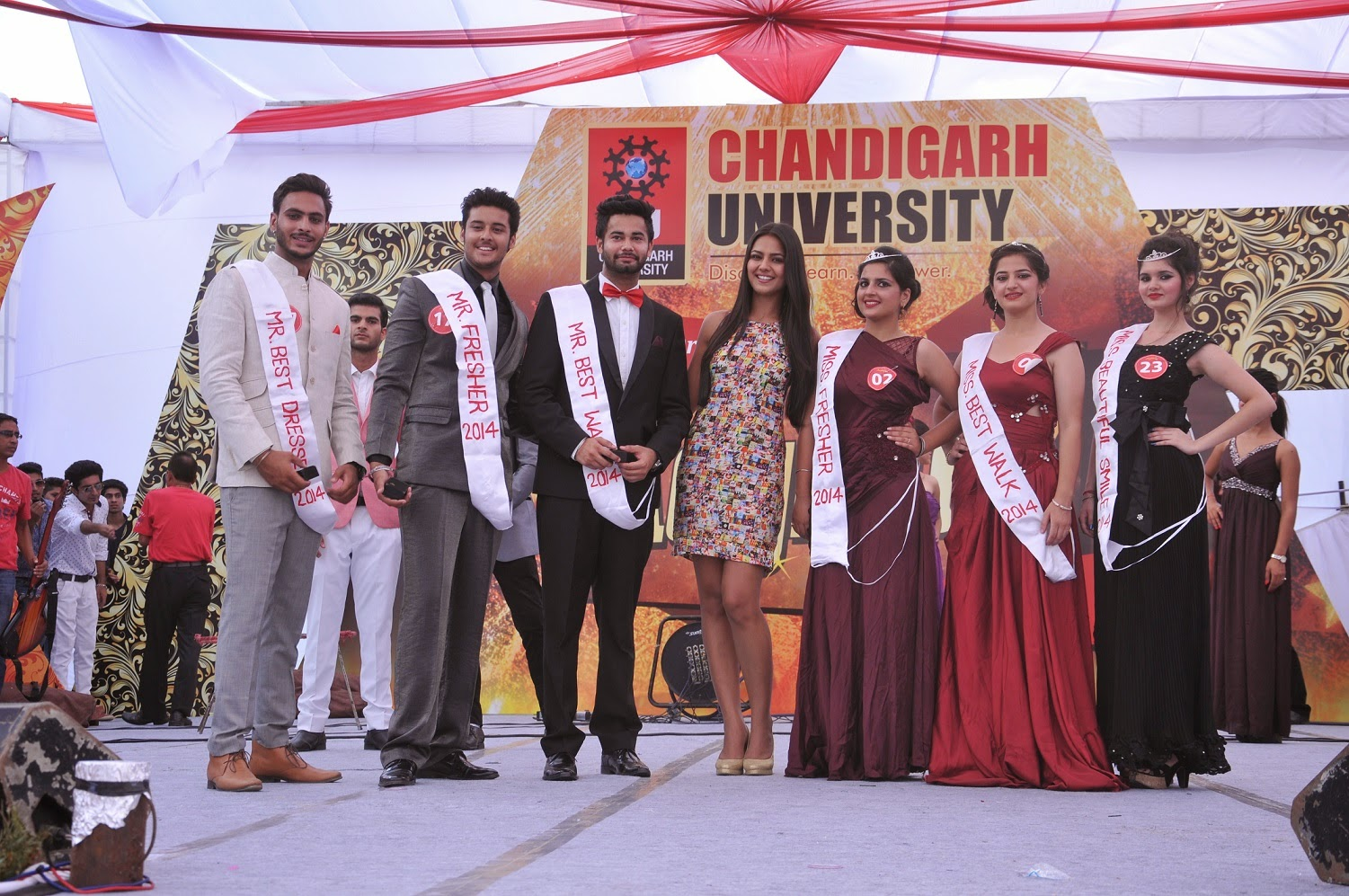 Chandigarh University Fresher's Party