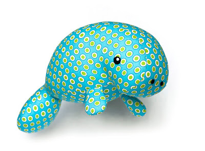 manatee toy pattern