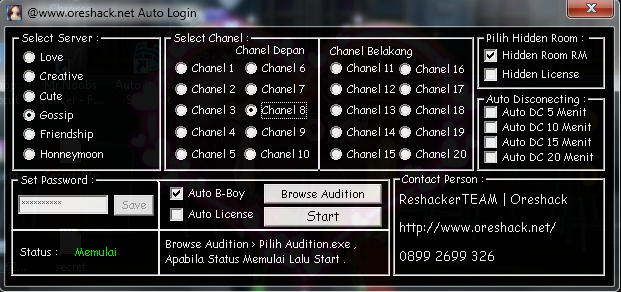 [Trial] Auto Login (Bboy + License) v.6097 By OresHack
