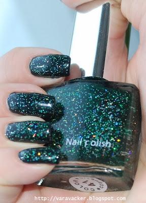 naglar, nails, nagellack, nail polish, holografiskt, holographic