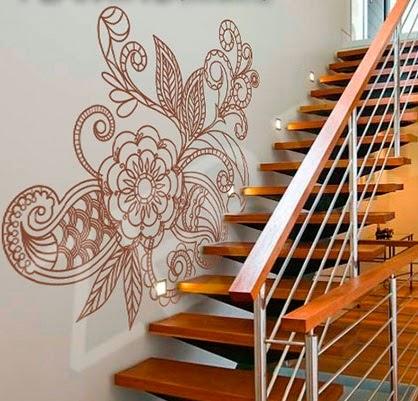 Decoracion con vinilo decorativo murales papel pintado for Vinilos decorativos para gotele