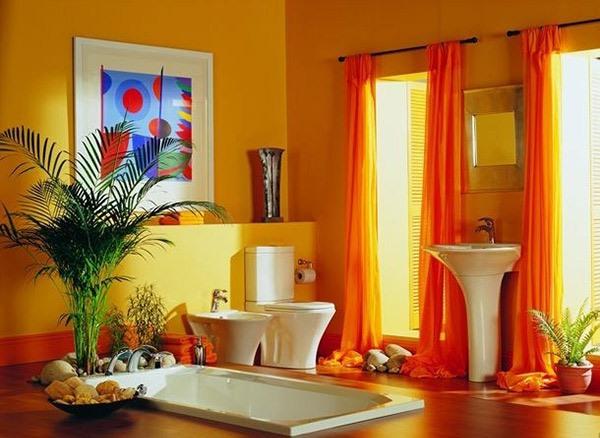 Kamar Mandi Indah dan Unik Warna-Warni