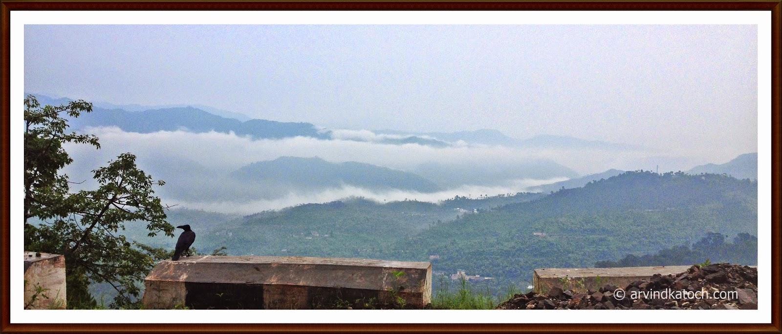 Clouds, Hills, Shimla, Himachal Pradesh