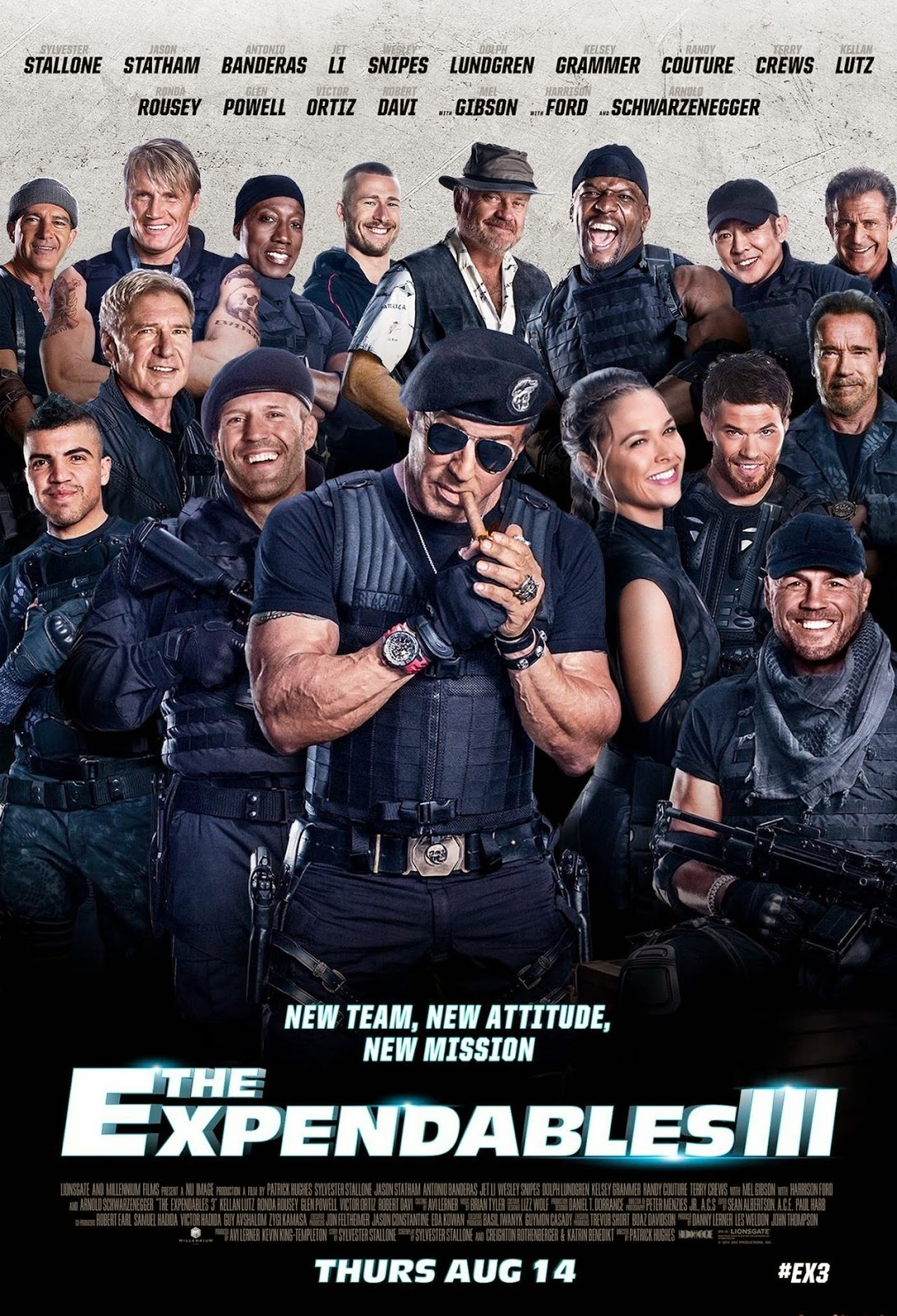 The Expendables 3 (2014) DVDScr Full Movie + Subtitle Indonesia