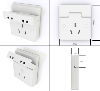 Creative Power Sockets and Modern Electrical Outlets (10) 3