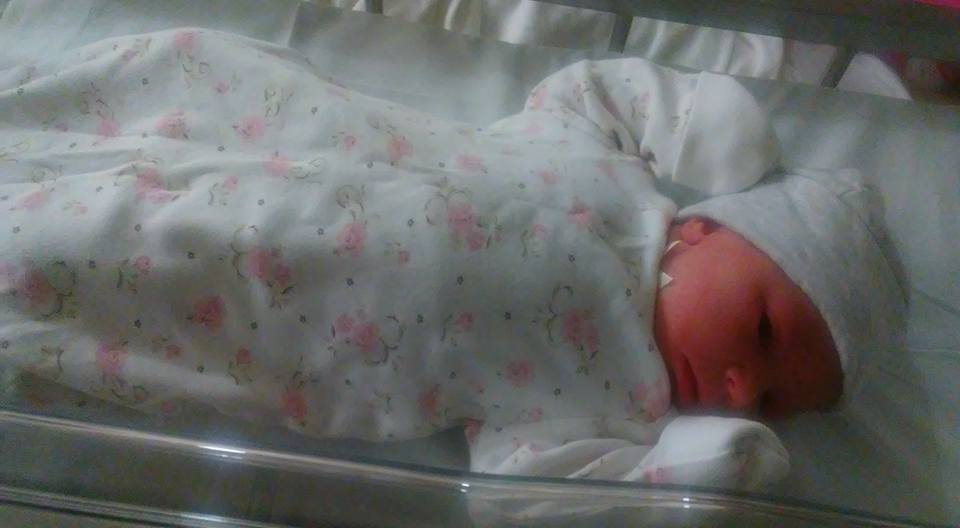 Another grandchild - welcome Maren