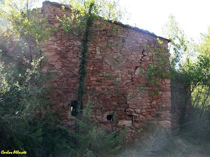 La masia, en runes, de Can Polvoré. Autor: Carlos Albacete