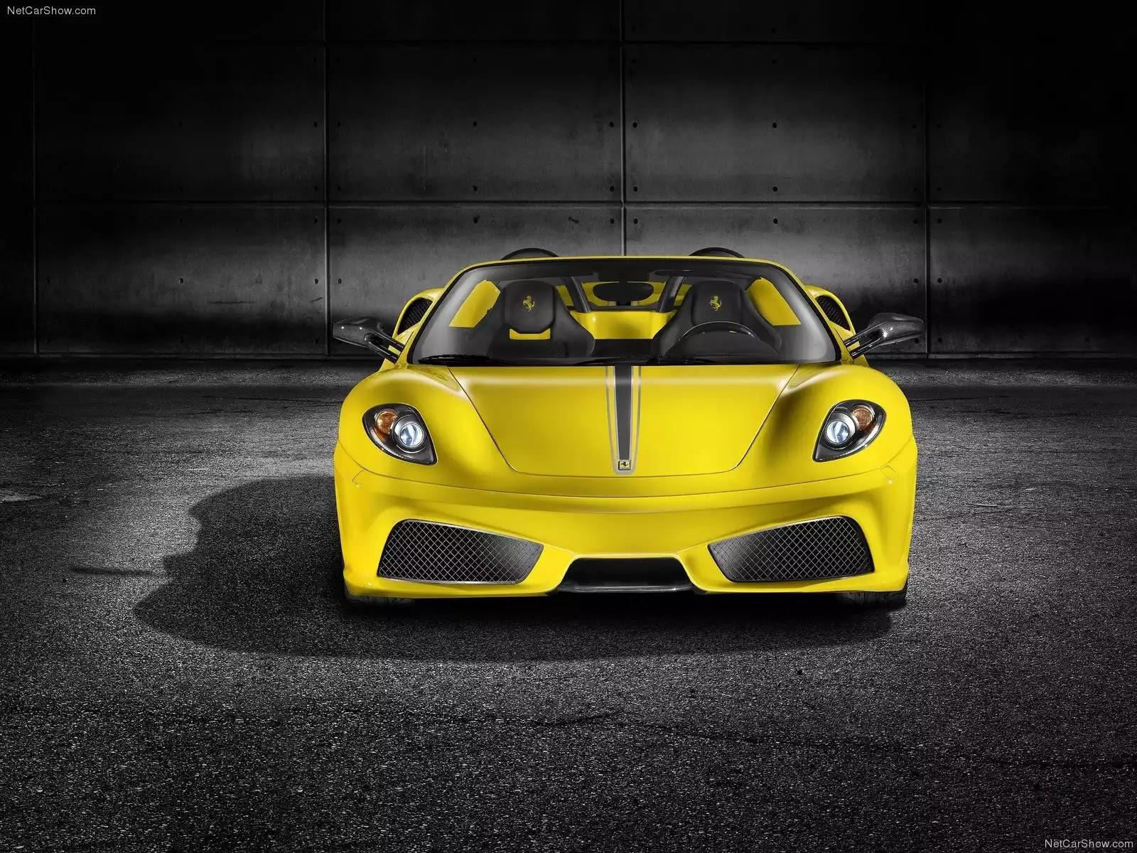 Hình ảnh siêu xe Ferrari Scuderia Spider 16M 2009 & nội ngoại thất