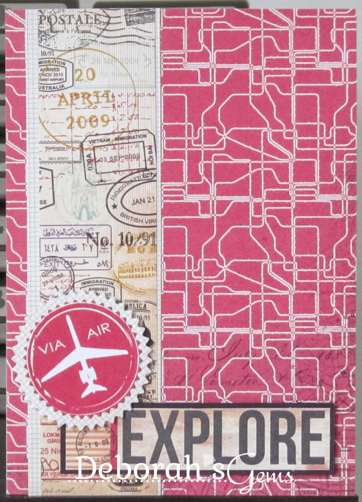 Explore - photo by Deborah Frings - Deborah's Gems
