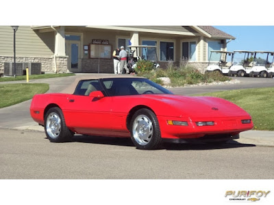 1996 Corvette Convertible at Purifoy Chevrolet